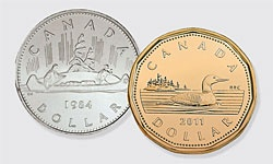 Canadian Loonie turns 25 - Canadian Geographic