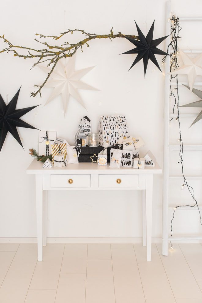 die besten 25 moderne weihnachtsdeko ideen auf pinterest. Black Bedroom Furniture Sets. Home Design Ideas