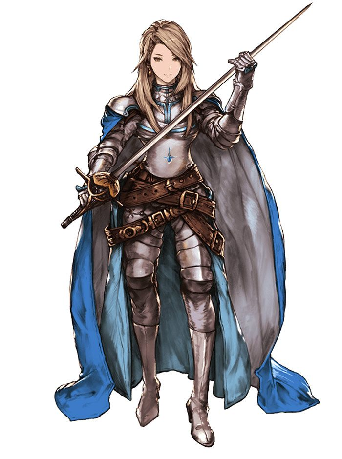 katalina from granblue fantasy character design in 2019