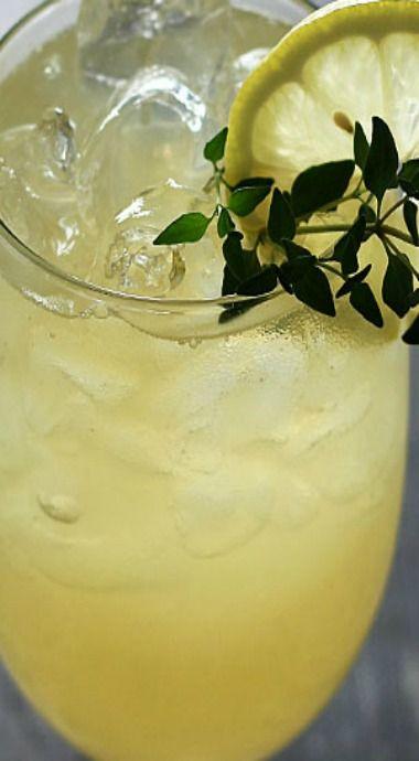 Whiskey Ginger Thyme Lemonde