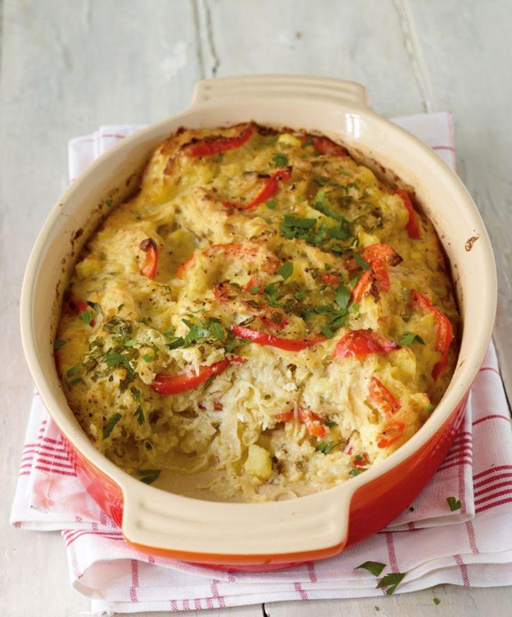 Rezept für Sauerkraut-Auflauf bei Essen und Trinken. Und weitere Rezepte in den Kategorien Eier, Gemüse, Kartoffeln, Kräuter, Milch + Milchprodukte, Hauptspeise, Auflauf / Überbackenes, Backen, Dünsten, Kochen, Einfach, Kalorienarm / leicht, Vegetarisch.