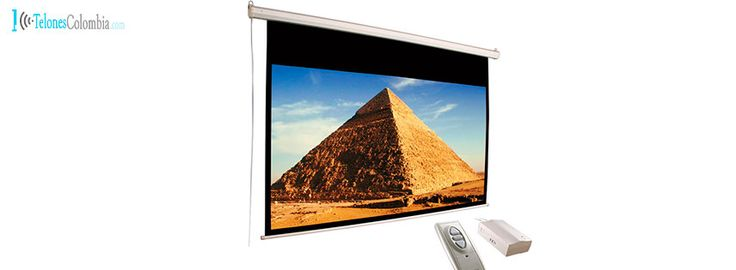 Pantalla eléctrica de video beam de 274 x 210 cms
