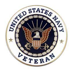 U.S. Navy Veteran Pin