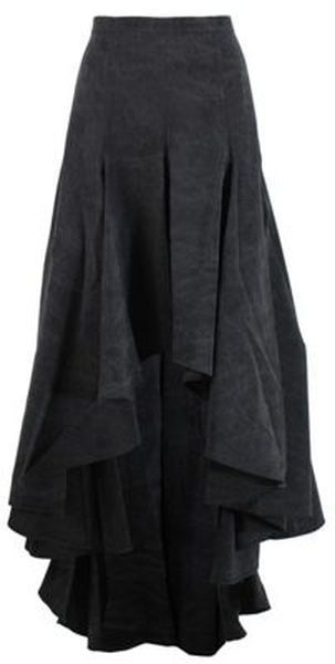 Wonderful skirt by Michael Kors. I just love the look of high waisted long skirts. It gives it a very old business style yet keeping it very casual at the same time.