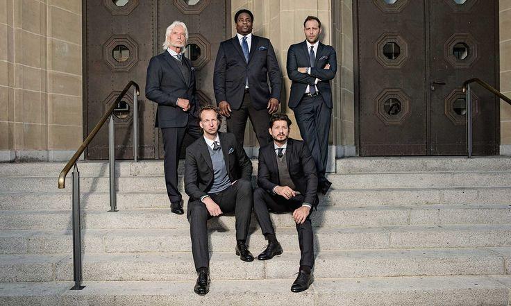 Wir möchten Ihnen zeigen, dass es bei Men Fashion weder eine Altersgrenze gibt, geschweige denn das persönliche Wohlfühlgewicht ein Hindernis darstellt. #soerenfashion #gentlemen #suits #mensfashion #classic