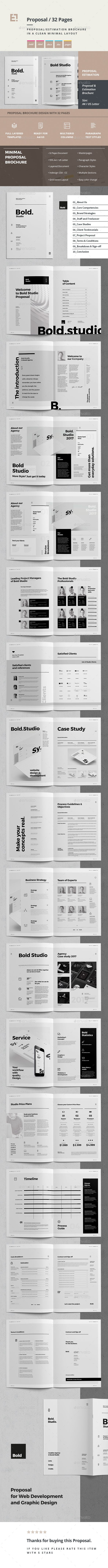 Proposal — InDesign INDD #proposal #trendy • Available here ➝ https://graphicriver.net/item/proposal/20668785?ref=pxcr