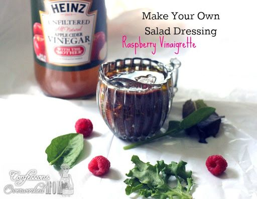 Make Your Own Salad Dressing - Raspberry Vinaigrette Recipe | Yummly