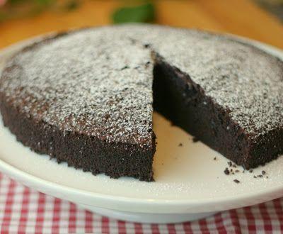 Sjokoladekake med olivenolje