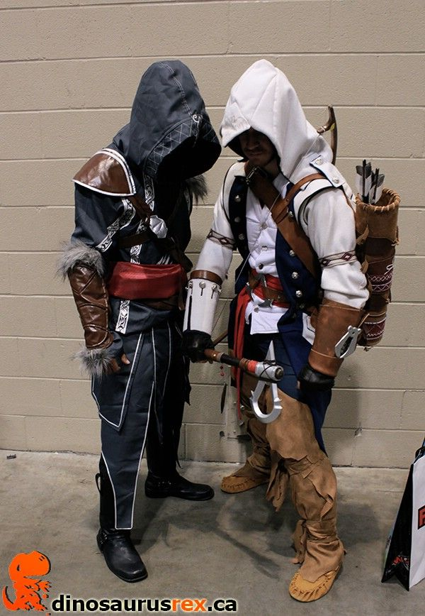 assassin's creed | Cosplay Costumes at Fan Expo Canada 2013 | http://www.dinosaurusrex.ca
