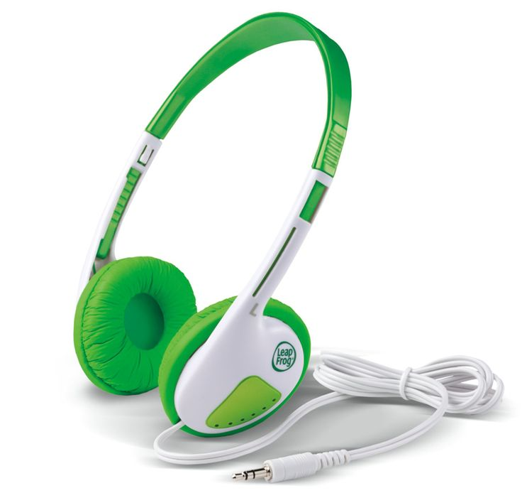 LEAPFROG - LEAPPAD HEADPHONES. Specially designed for children's ears these headphones will help little learners have heaps of fun!