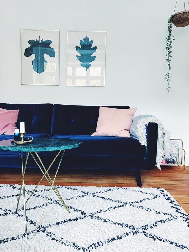 Conrad - individuelle gestaltet von @ditteblog #danishdesign #furniture #scandinaviandesign #interiordesign #furnituredesign #nordicinspiration #retrostyle #blue #Sofa