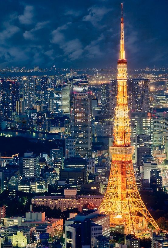 Tokyo Tower, Japan - photo by Ricky, via Flickr                                                                                                                                                      More