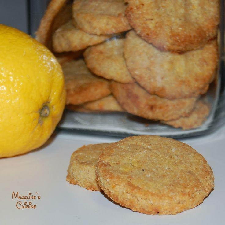 Biscuiti cu lamaie fara gluten / Gluten-free lemon cookies - Madeline's Cuisine