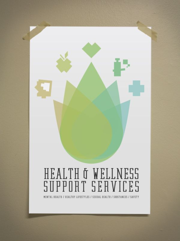 Health & Wellness Support Services by WARPAINT Media , via Behance