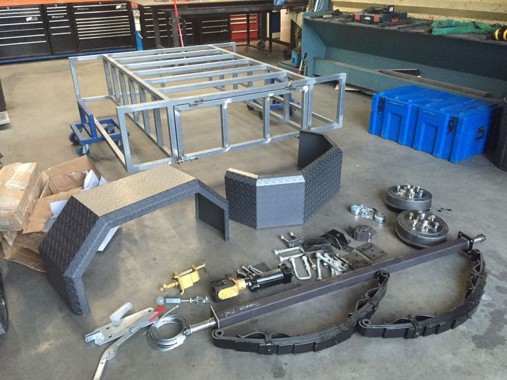 11 Best Images About Diy 4wd Box Trailer On Pinterest
