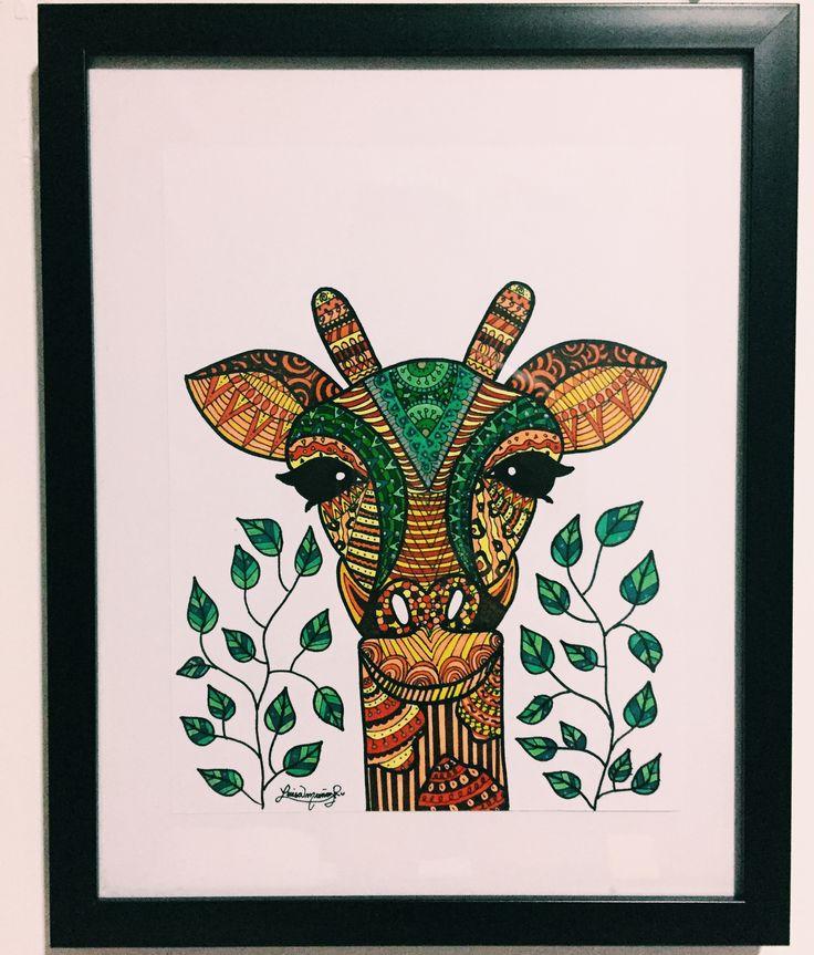 Giraffe  - Luisamr