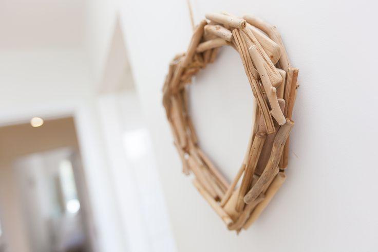 Driftwood heart www.cherishedcottages.co.uk