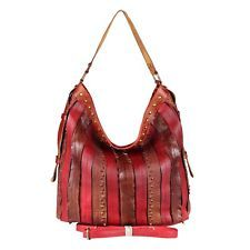 Marque a sus amigos para que puedan verlo. Señora XXL mano-bolsa Hobo Bag bandolera Shopper con tachuelas bandolera cuero: 42,95 EUREnd…
