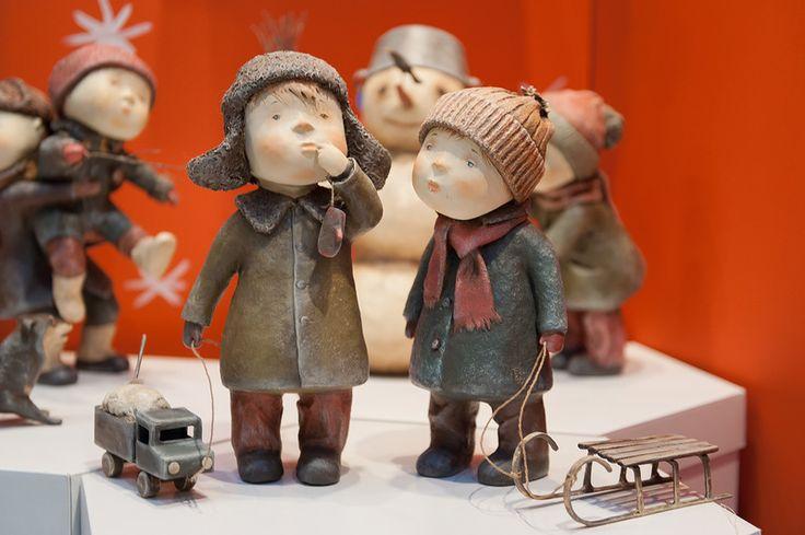 """4-я Международная выставка """"Искусство Куклы"""" проходит в Москве вГостином Дворе с 12 по 15 декабря 2013г. Хочется выразить благодарность всем мастерам за их…"""