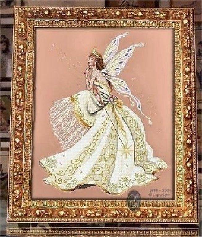 Schema punto croce Reggina delle Fate   Hobby lavori femminili - ricamo - uncinetto - maglia