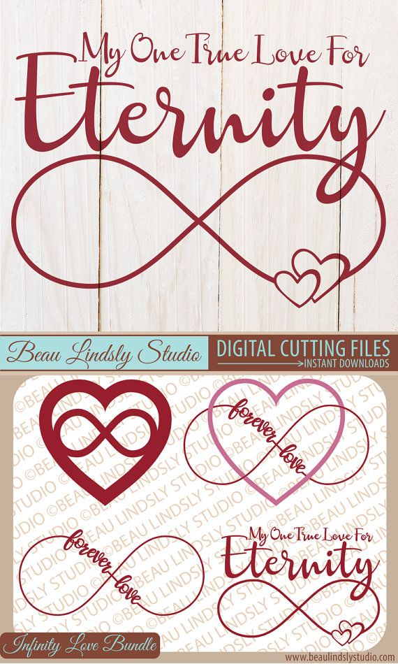 Infinity Love Sign SVG File, Infinity Sign svg, Wedding