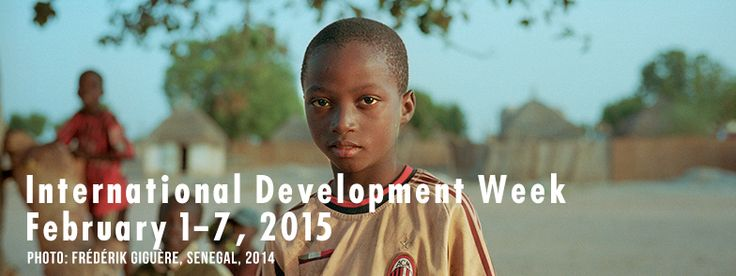 It's International Development Week! Celebrate with us and find out more about Crossroads' activities in our eBulletin!