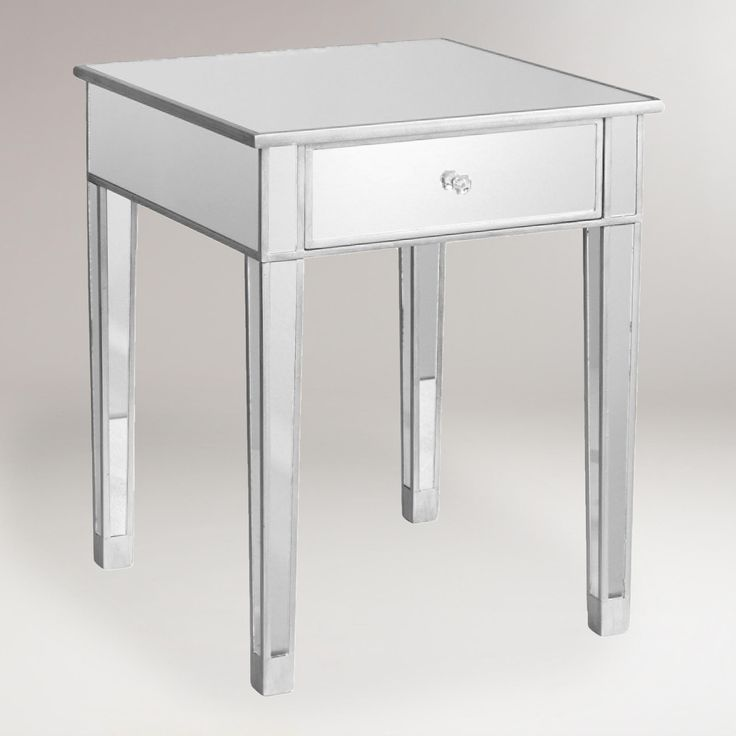 Mirrored Accent Table | World Market $197.99