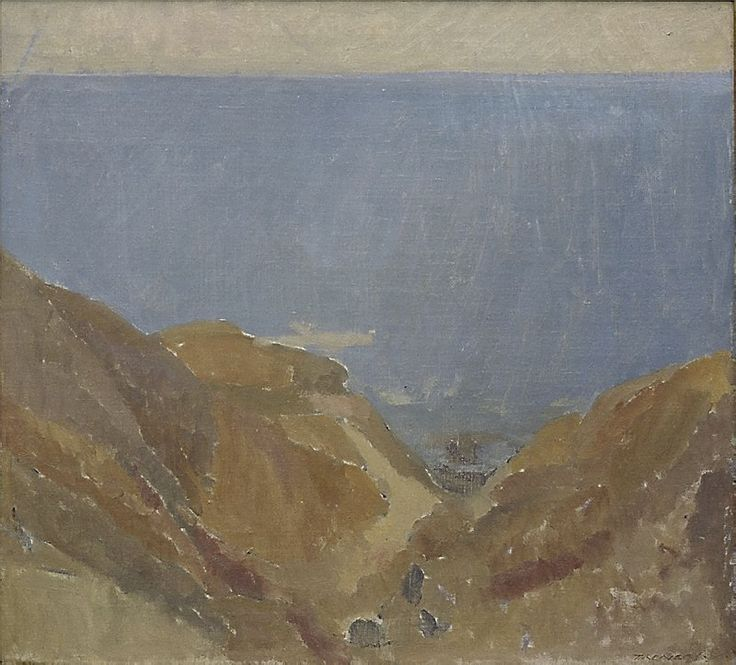 Seascape, (circa 1937) by Horace Trenerry :: The Collection :: Art Gallery NSW