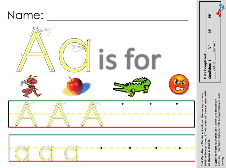 12 best Autism Worksheets Writing Skills images on Pinterest ...