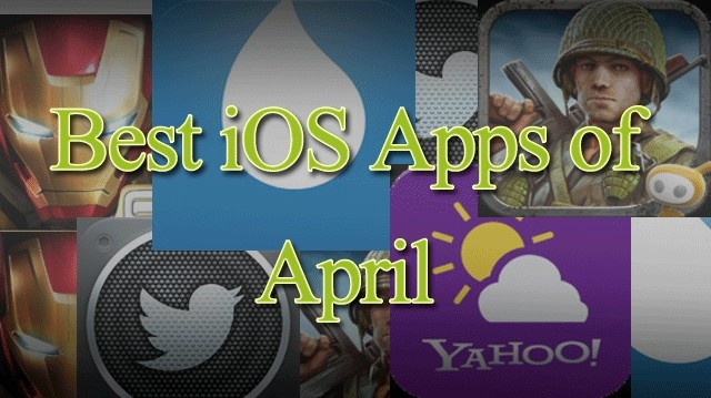 Hundreds of apps gets released every month So its not easy to find out which are the best apps. In order to help you out we are publishing best 5 iOS apps of April 2013. List will include all new and old apps based on