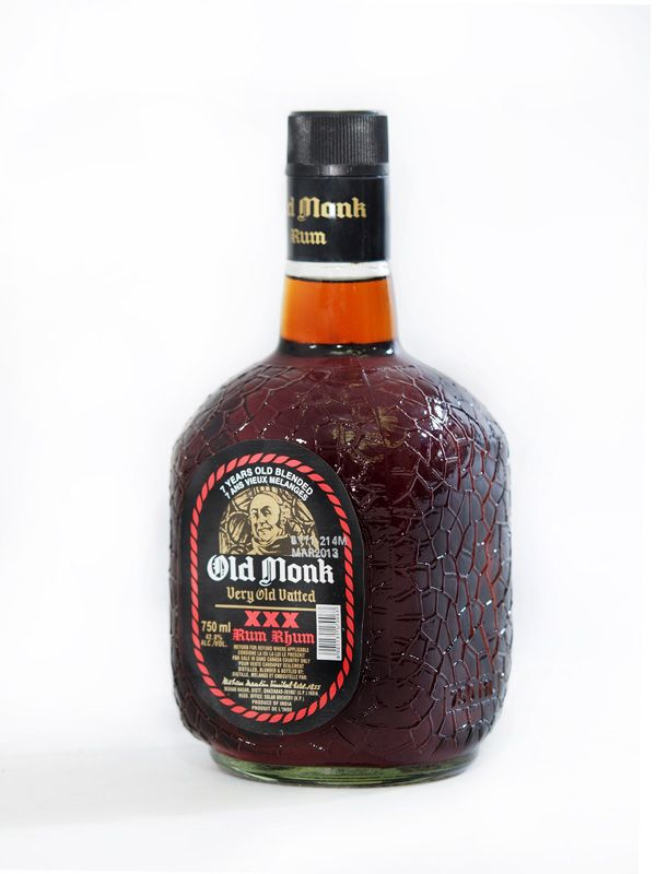 A vatted rum from India which has been aged at least 7 years. A soldier's drink.