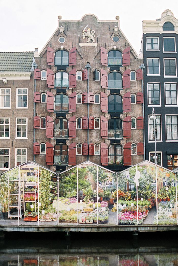 Greenhouses on the Water in Amsterdam | photography by http://www.beckyrui.com