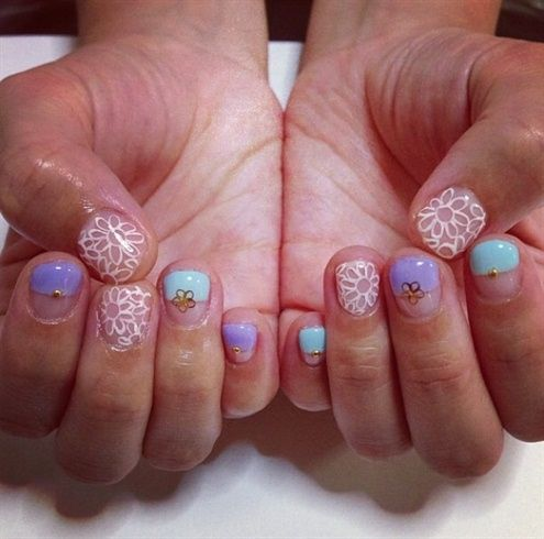 120 best negative space nail art images on pinterest