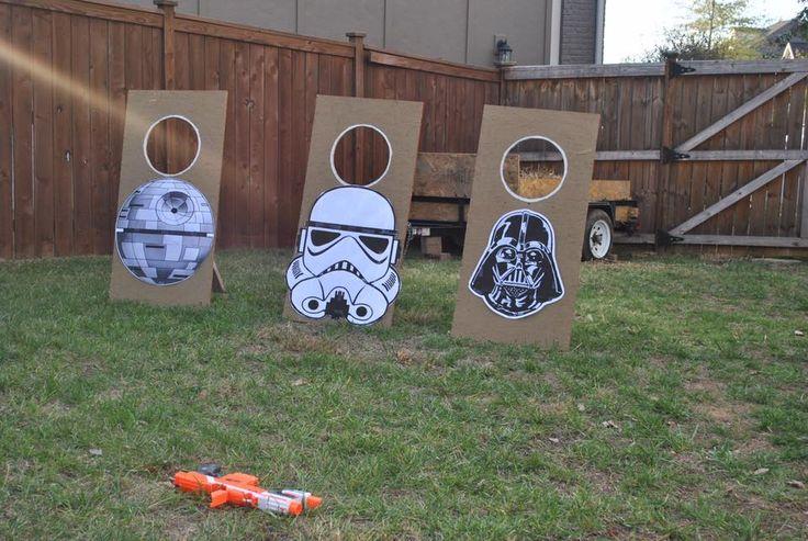 Star Wars Target Practice - Star Wars Party Ideas