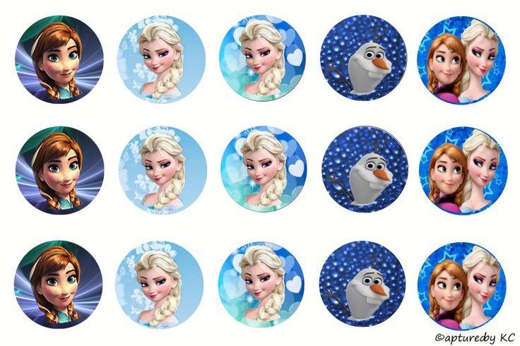 Free frozen bottle cap images