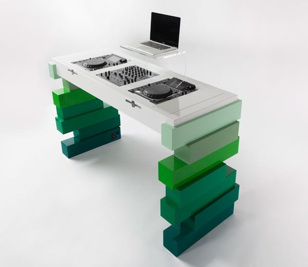 Apollo DJ workstation by Evoni Design call DJ Valerie today to discuss your vision. 808-633-8015 www.mauidjvalerie.com