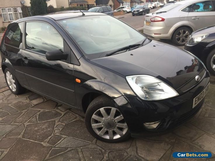Ford Fiesta 1.4 3dr 2003 FULL LEATHERS TOP SPEC  #ford #fiesta #forsale #unitedkingdom