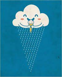 Heng Swee Lim helado en día de lluvia