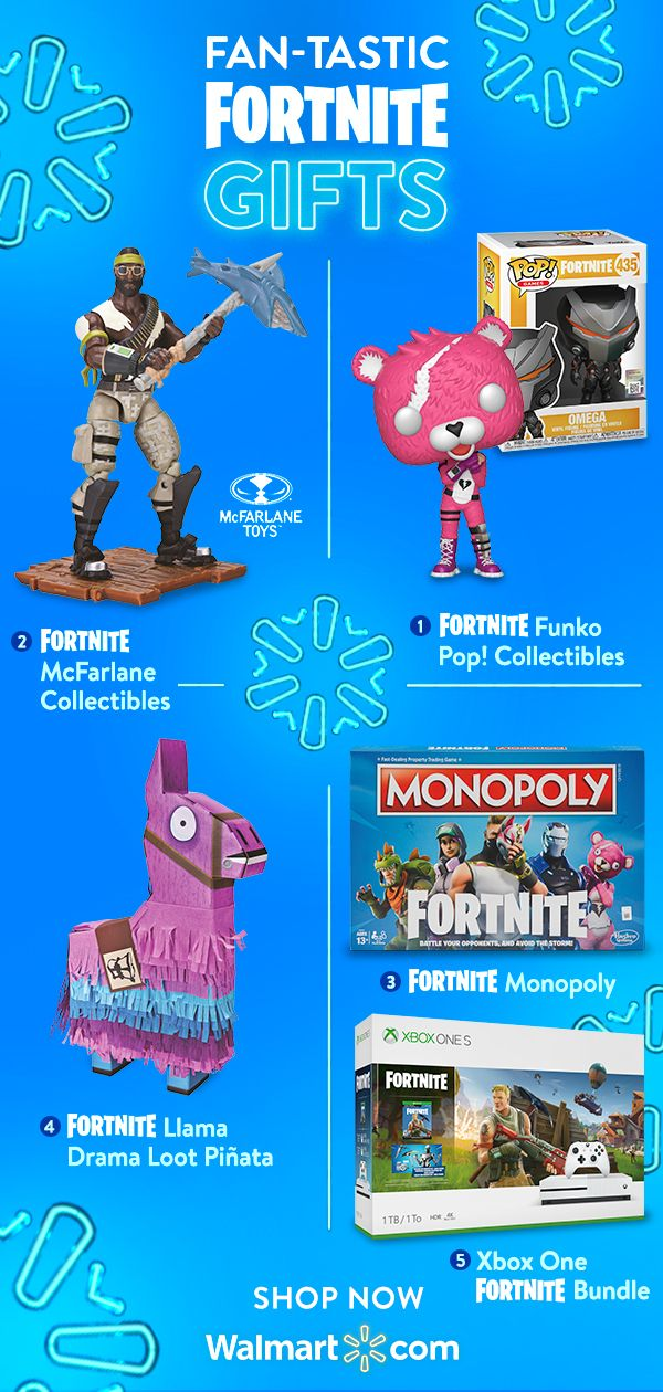 Sleigh Your Holiday Shopping With Fortnite Goodies Great Gifts At