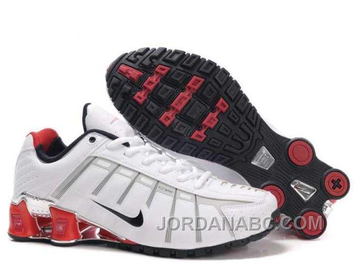 Nike Shox NZ III Third Mens White Red