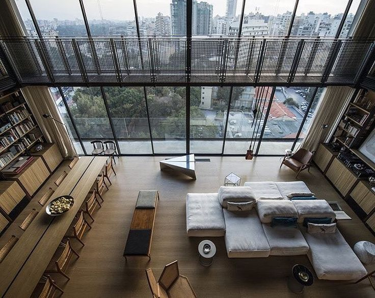 Another fabulous Extrasoft seating composition in a gorgeous space. Sofa by Piero Lissoni for Living Divani Italy