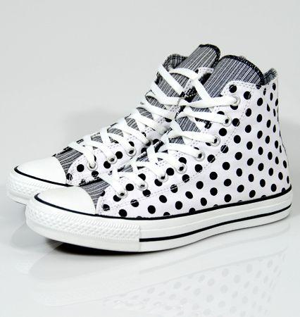 Polka dots and Chuck Taylors?