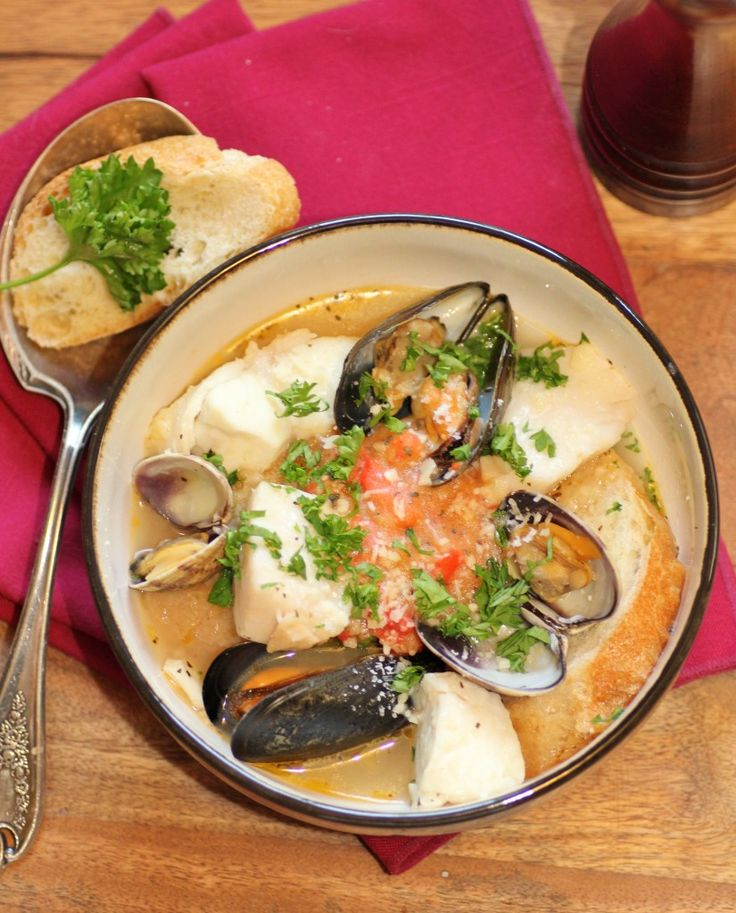 Julia Child's Bouillabaise...making something from Julia's cookbook each week as we mark down the weeks to what would be her 100th birthday :)