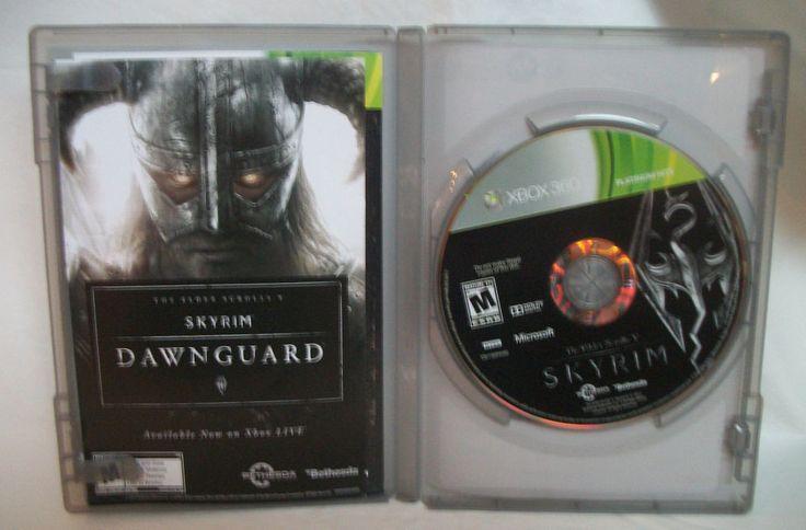 Elder Scrolls V: Skyrim  (Xbox 360, 2011) M Game / Game of the Year