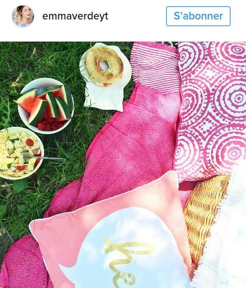 Emma Verde DIY picnic