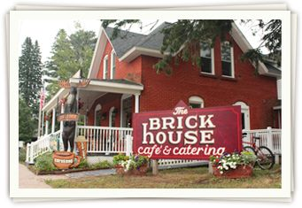 Brick House Café & Catering | Cable, Wisconsin Restaurant | Hayward, Wisconsin Catering Services