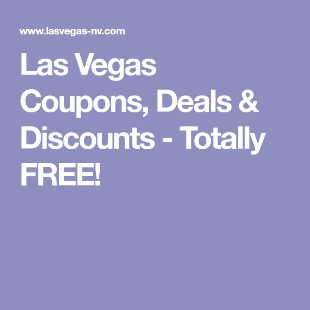 The ultimate source for all Las Vegas Deals with amazing discount coupons including Buy 1 Get 1 Free Shows and Hotels, up to 50% Off Hotels for top Las Vegas Strip Hotls!
