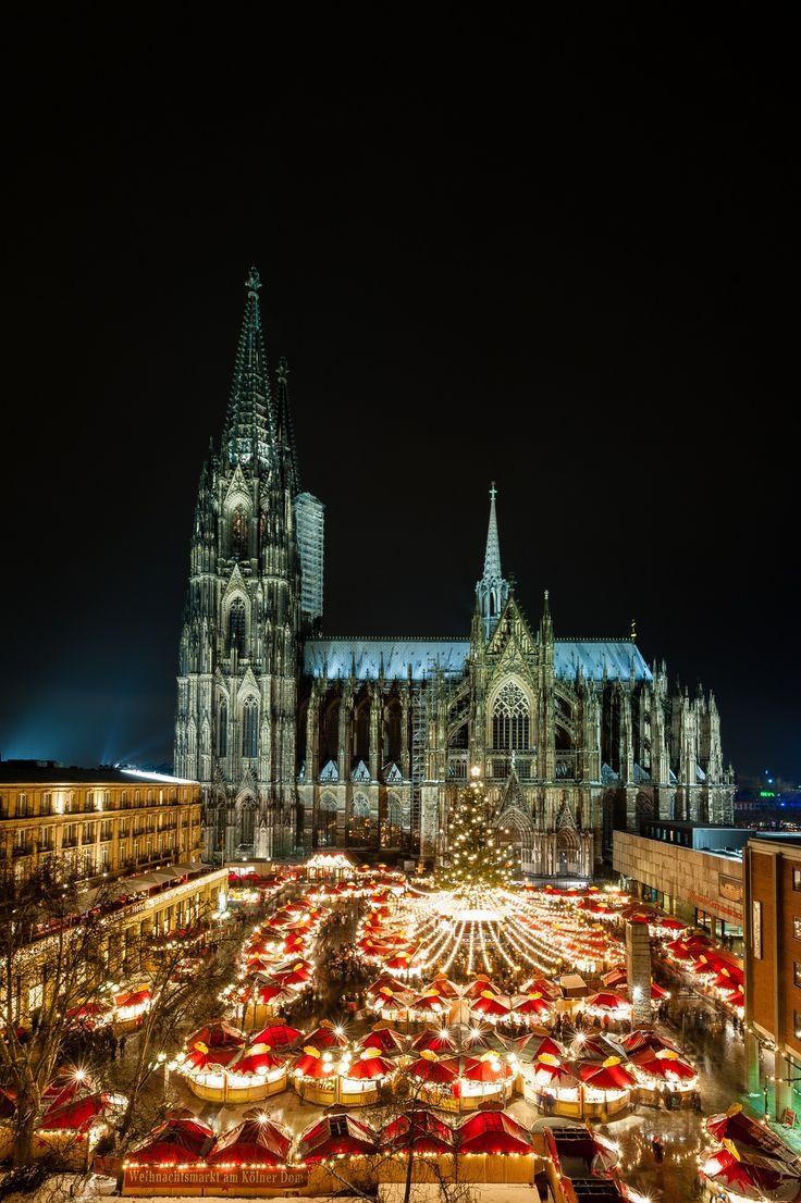 Colonia: ciudad de mercadillos navideños #Alemania
