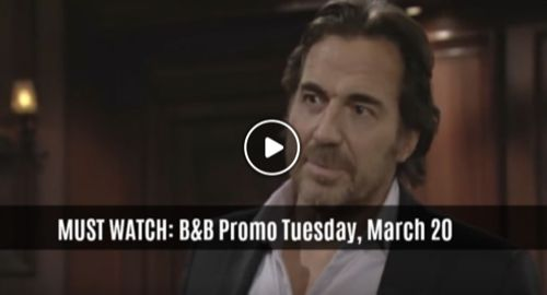 MUST WATCH The Bold And The Beautiful Preview Video Tuesday, March 20: Ridge Suspects Thomas Shot Bill, Wants To Protect Him