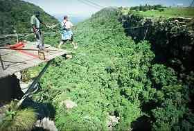 Gorge Swing in Graskop, Mpumalanga
